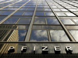 Квартальный объем продаж Pfizer увеличился на 1%