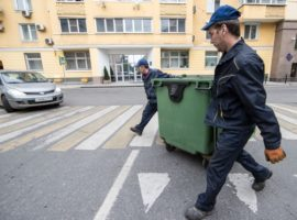 Минприроды заявило о дефиците мусорных контейнеров